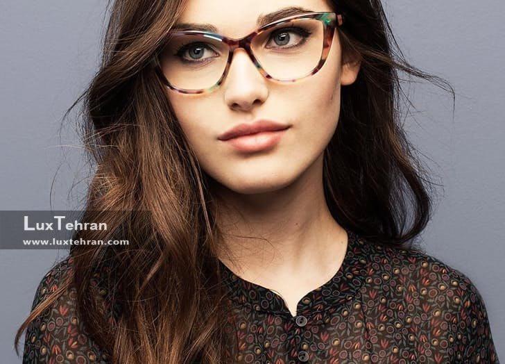 فرم عینک مناسب صورت عینک طبی