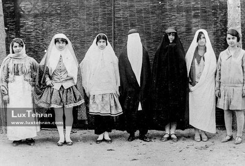 حجاب در ایران ؛ از دوره قاجار تا کنون