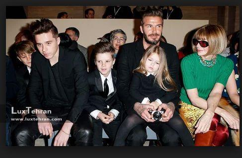 عکس دیوید بکهام ، همسر و پسران ؛ مصاحبه و گزارشی خواندنی از معروف ترین خانواده دنیای مد