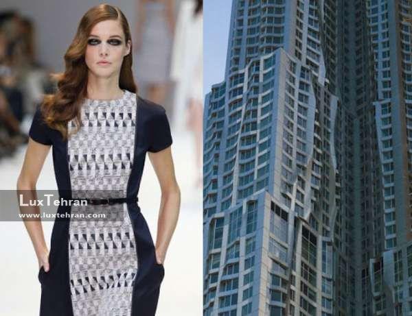لباس های الهام گرفته شده از بنا های معماری / طراحی لباس و خیاطی، معماری حرکت است