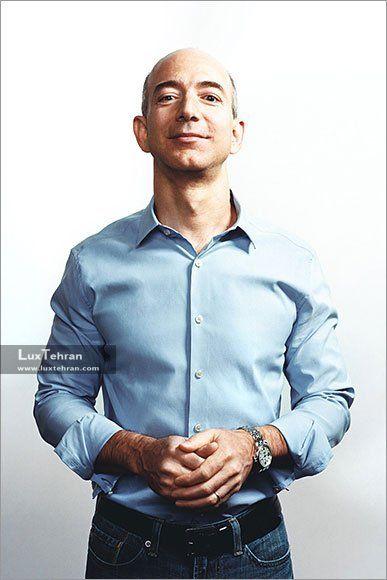 ساعت مچی مردانه مدیر عامل آمازون ، جف بزوس