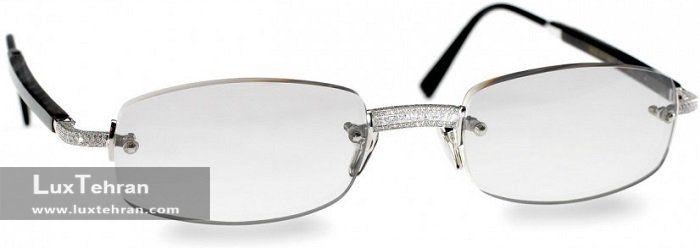 گرانترین عینک طبی طلا برند گلد وود
