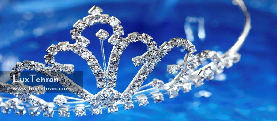 تاج عروس /انواع جدید ترین مدل های تاج عروس / تاج عروس ساخته شده از گل طبیعی