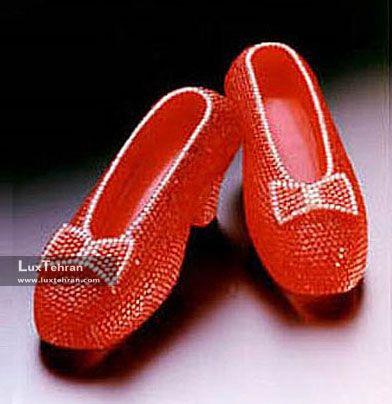 کفش یاقوت هری وینستون- 3 میلیون دلار