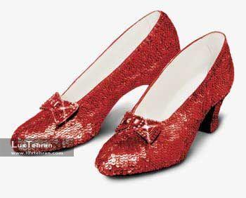 کفش یاقوتی جادوگر شهر اوز -666000 دلار