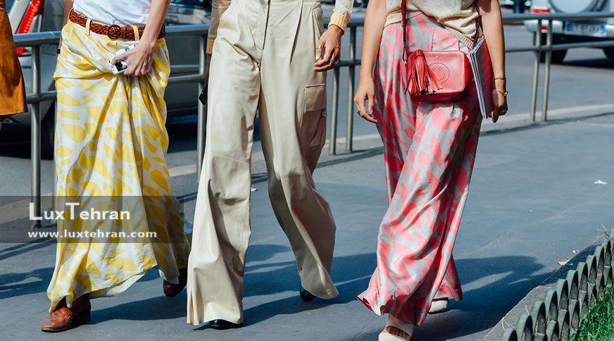 چی بپوشیم : خانم های خوشتیپ در تابستان چگونه لباس هایشان را ست می کنند ؟ / ست لباس زنانه