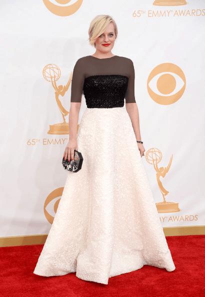 الیزابت ماس (Elisabeth Moss)، طراح لباس اندرو جی. ان، 2013