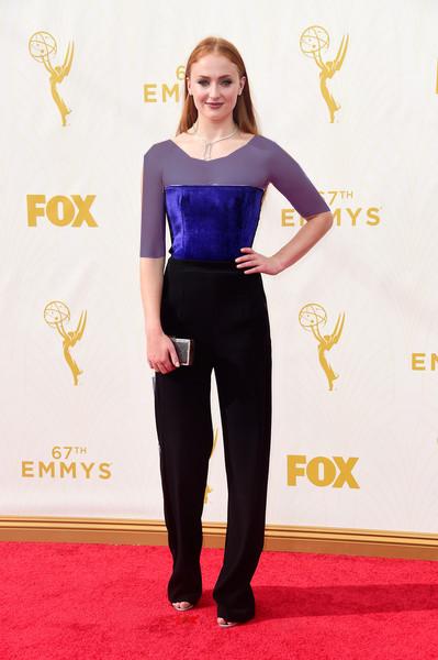 سوفی ترنر (Sophie Turner)، طراح لباس گالوان، 2015