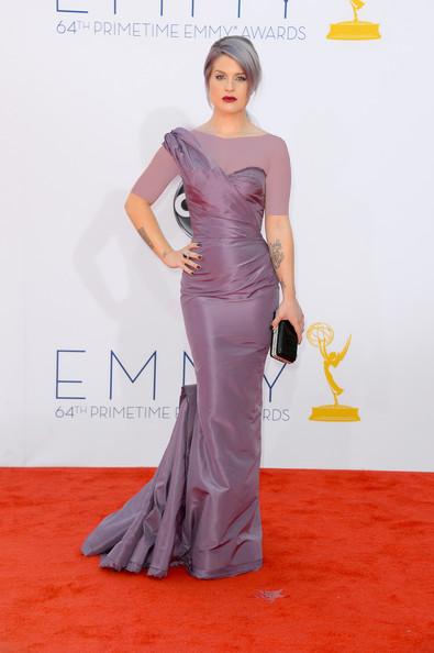 کلی آزبورن (Kelly Osbourne)، طراح لباس زاک پوسن، 2012