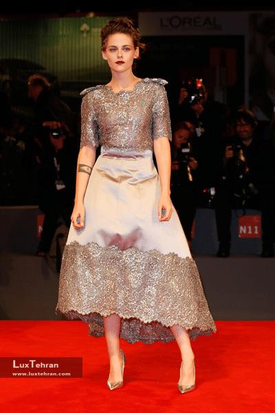 کریستین استوارت (Kristen Stewart) لوکس تهران شانل کوکو شانل عطر شانل