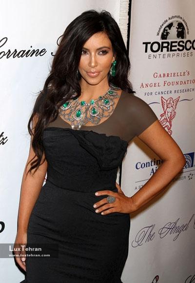 عکس جواهرات  Kim Kardashian