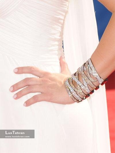 جواهرات برند : لورن شوارتز کیم کارداشیانKim Kardashian