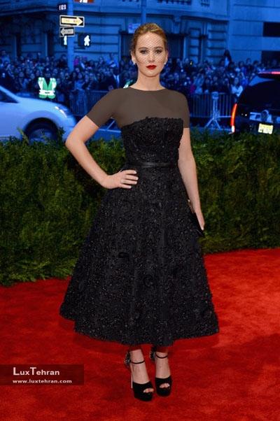 عکس جنیفر لارنس در مراسم فرش قرمز Jennifer Lawrence