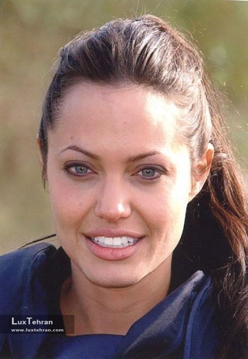 چهره بدون آرایش آنجلینا جولی