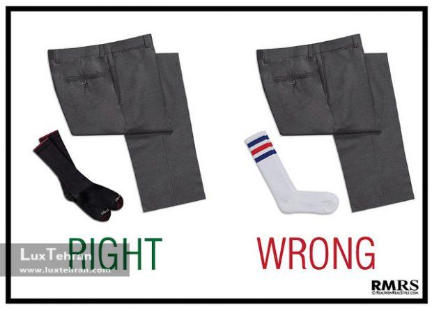چه چیزهایی را نباید با هم بپوشیم ؟! (پنج اشتباه بزرگ مردان در لباس پوشیدن )