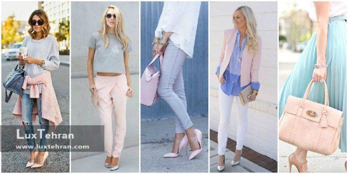 ۱۰ ترکیب رنگ لباس ایده آل برای خانم های خوش پوش (ست رنگ لباس زنانه)