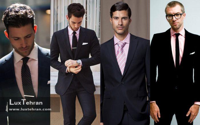 کت و شلوار مشکی را با چه پیراهنی بپوشیم؟