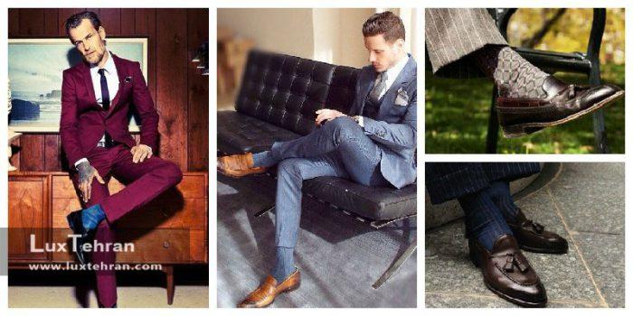 جوراب برای کفش کالج مردانه