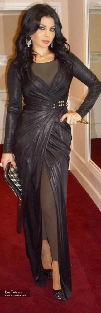 لباس مجلسی هیفا وهبی