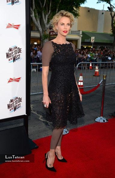طراح لباس شارلیز ترون : کریستین دیور، سال 2014