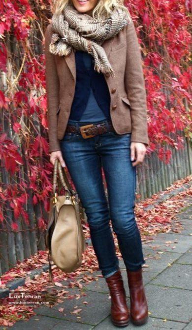 زنان شیک پوش از ترکیب لباس های مختلف استفاده می کنند
