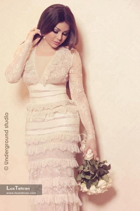 طراح لباس: ایلی صعب هیفا وهبی