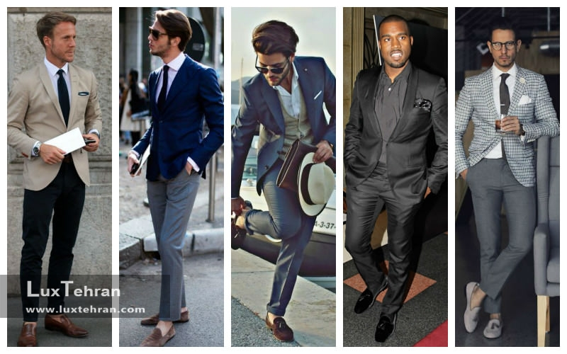 تیپ رسمی چی بپوشم کفش کالج مردانه