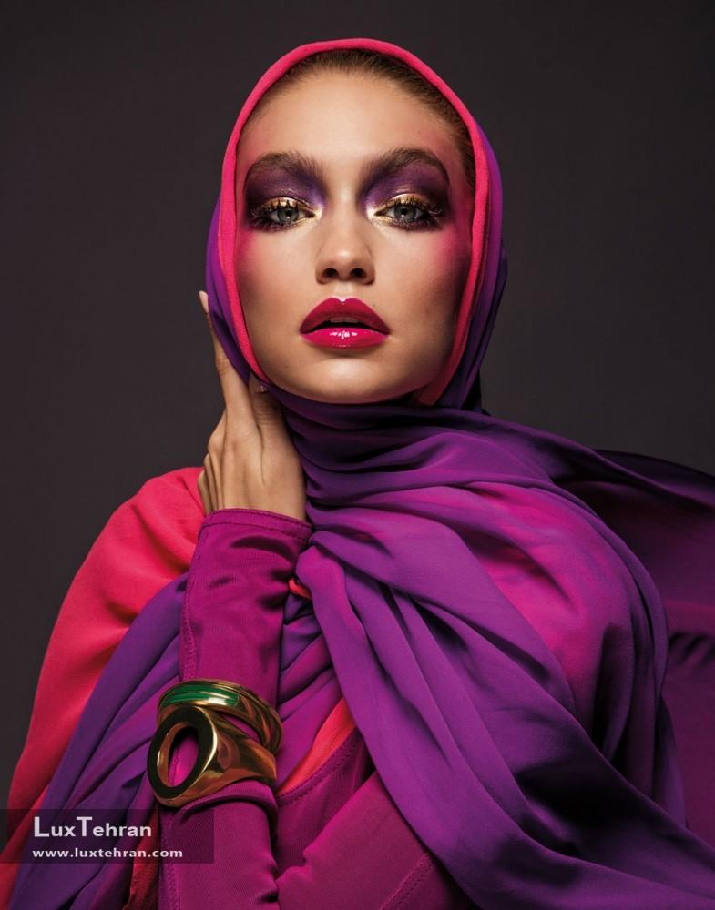 """جی جی حدید ؛ اولین چهره جذاب مجله ووگ عربی """" Gigi Hadid """""""