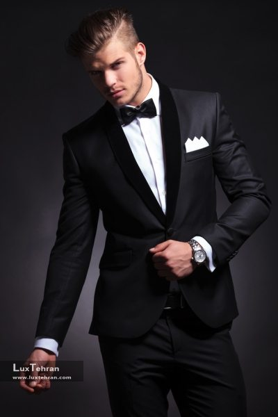 بلندقدتر بنظر رسیدن با پوشیدن لباس های سیاه و سفید