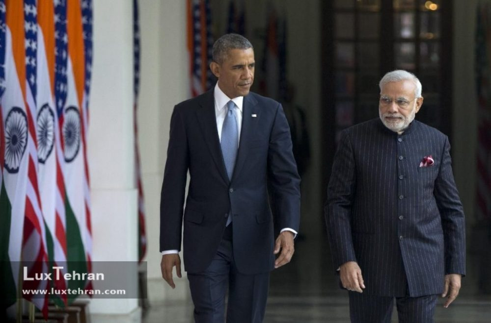 تصویری از اوباما در گرانترین کت شلوار جهان کت و شلوار نارندرا مودی