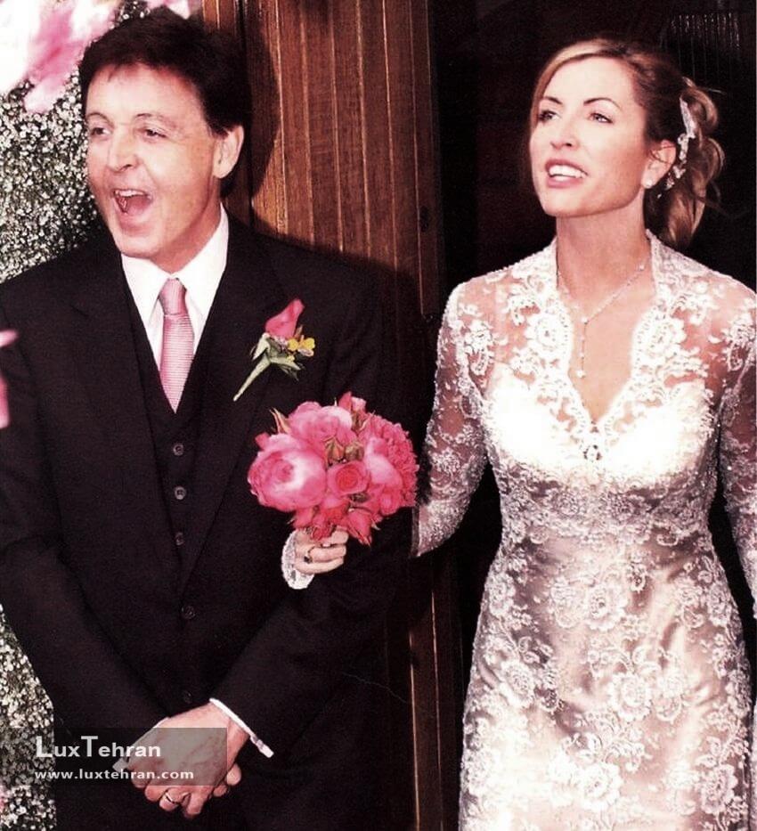 لباس عروس هدر میلز