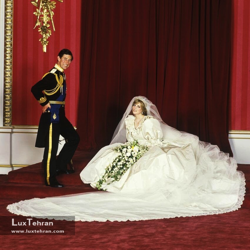 لباس عروس پرنسس دایانا