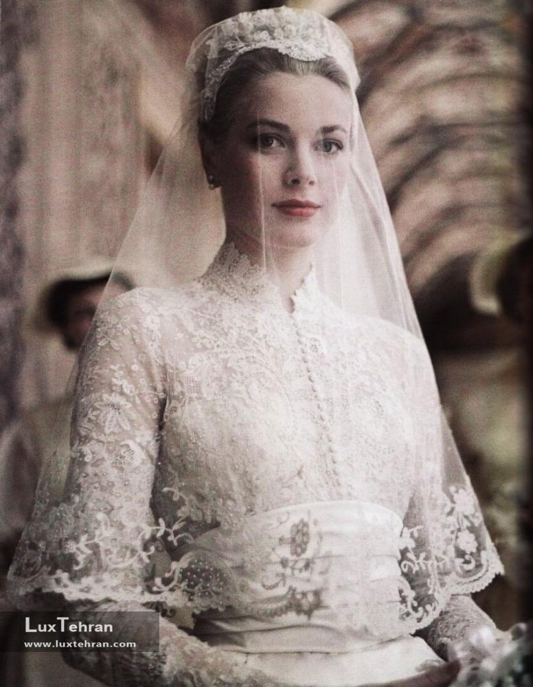 لباس عروس گریس کلی