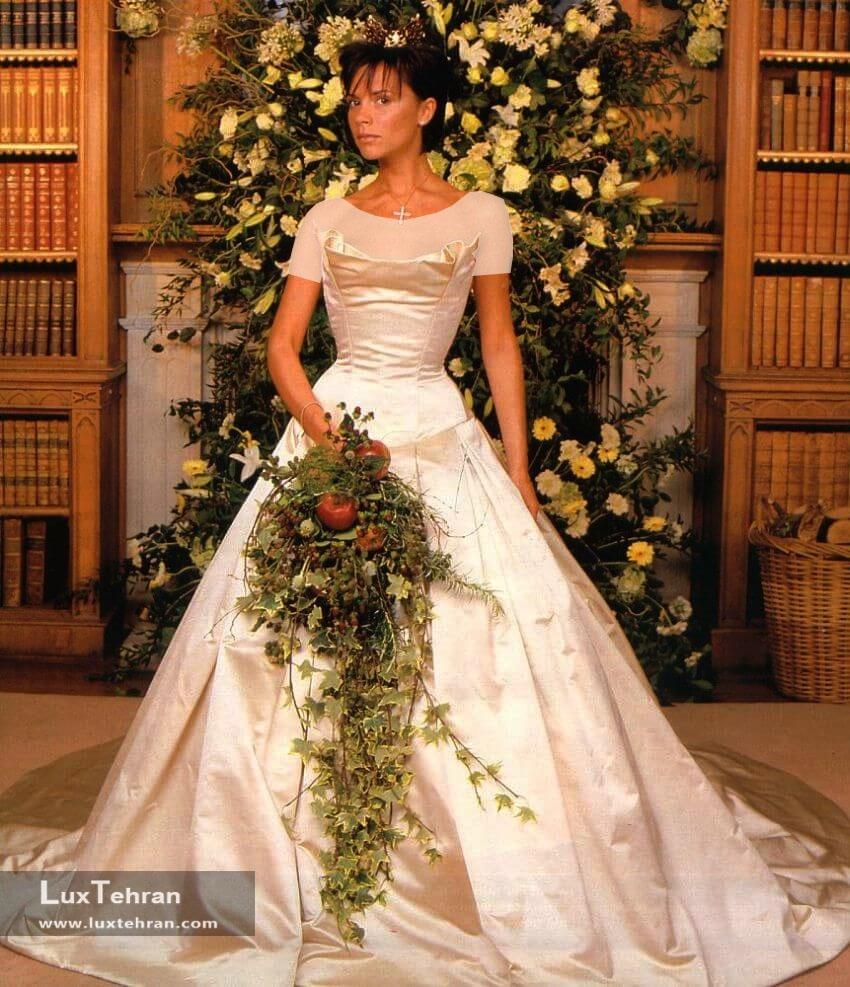 لباس عروس ویکتوریا بکهام