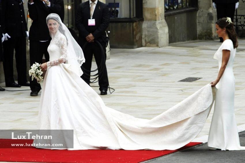 لباس عروس کیت میدلتون