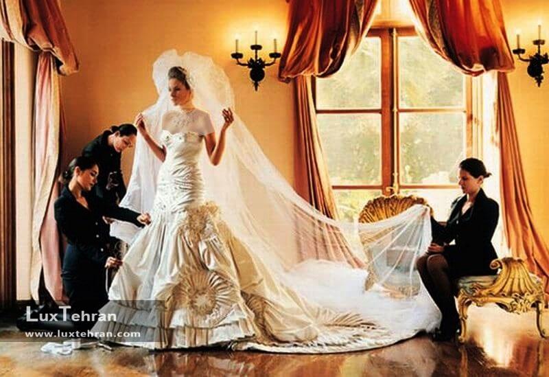 لباس عروس ملانی ترامپ