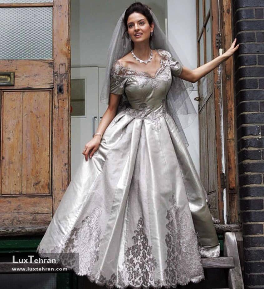 لباس عروس لاکچری مائورو آدامی
