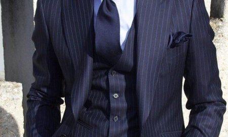 قیمت یک دست کت و شلوار لوکس بسپوک (Bespoke) 66 میلیون تومان / کت و شلوار سورمه ای