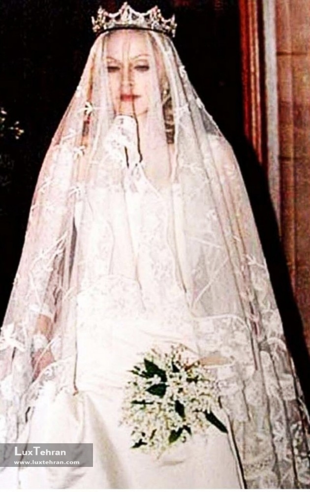 لباس عروس مدونا