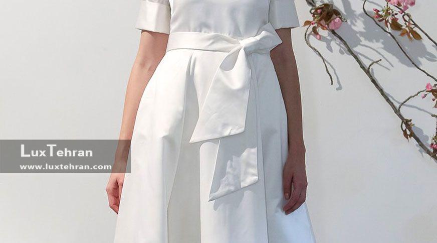 لباس+عروس+غیر+دکلته
