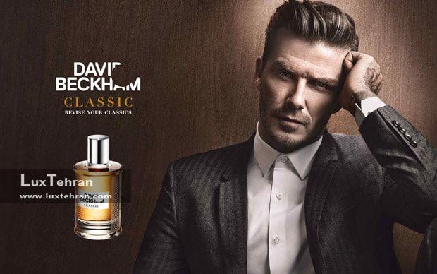 شیک پوشی به سبک دیوید بکهام David Beckham عکس دیوید بکهام در تبلیغات عطرش