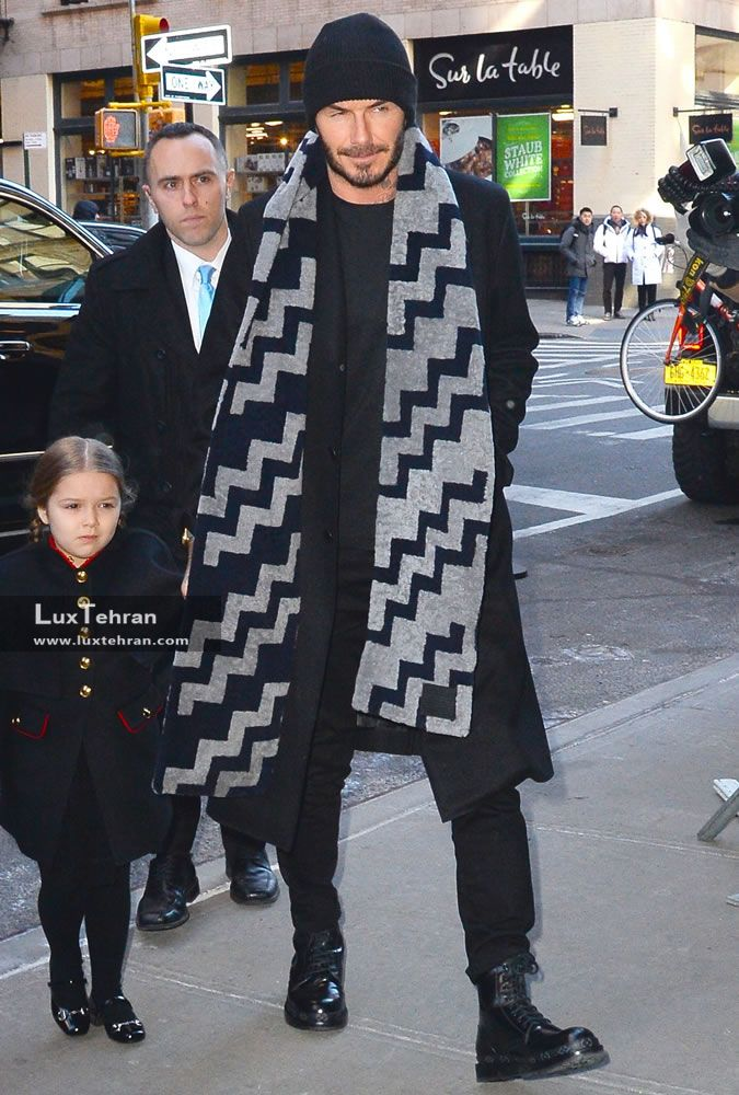 عکس دیوید بکهام : شیک پوشی به سبک دیوید بکهام David Beckham + عکس دیوید بکهام در استایل های مختلف لوکس تهران