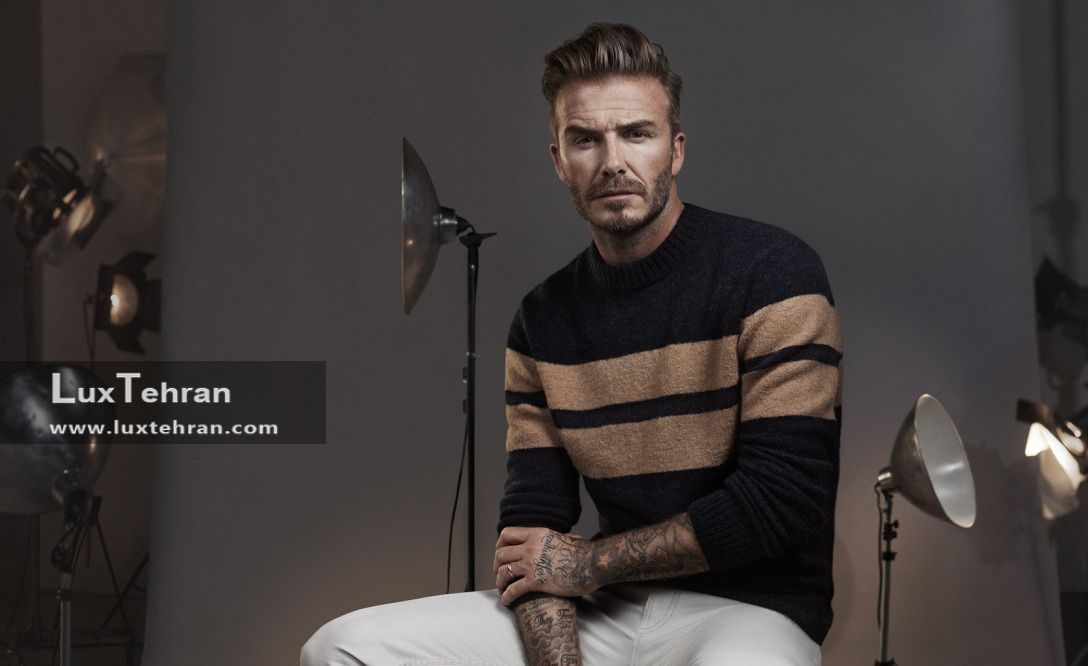 عکس دیوید بکهام : شیک پوشی به سبک دیوید بکهام David Beckham + عکس دیوید بکهام در استایل های مختلف لوکس تهران شیک پوشی به سبک دیوید بکهام David Beckham