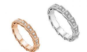 حلقه نامزدی حلقه ی نامزدی و عروسی برند بولگاری