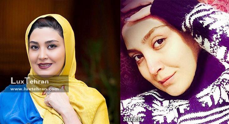عکس بدون میکاپ بازیگر زن ایرانی ؛مریم معصومی