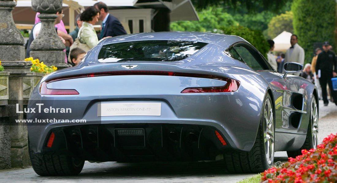استون مارتین وان خودرویی گرانقیمت و جذاب