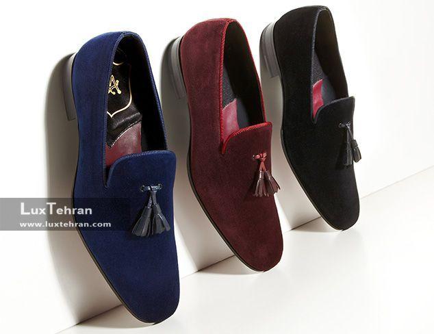 کفش لوفر در رنگ های متفاوت