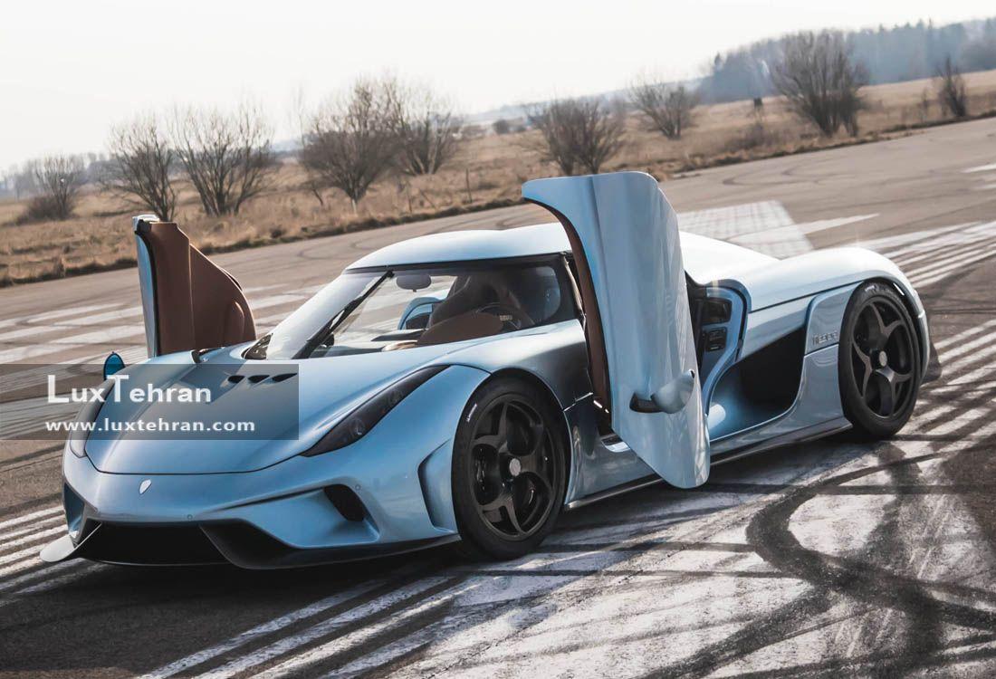 کوئنیگزگ رگرا وان از بهترین های خودروهای لاکچری