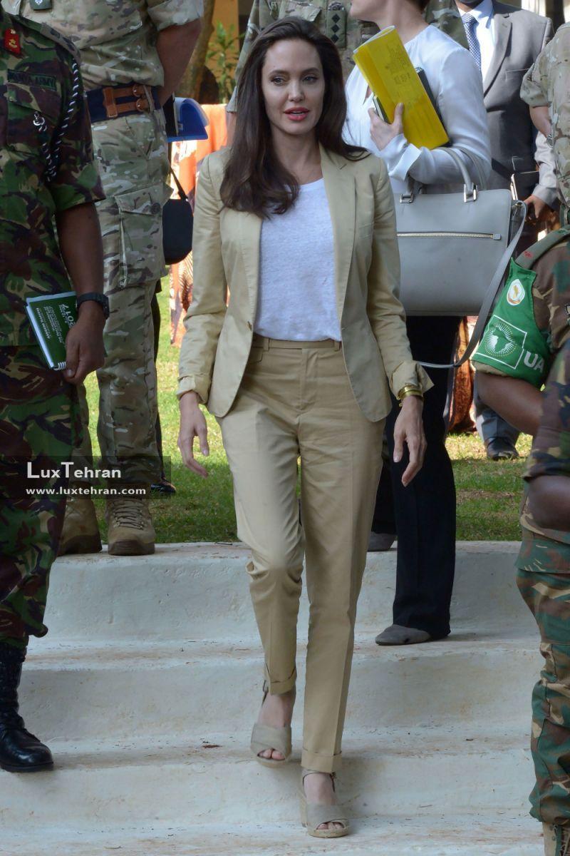 آنجلینا جولی جذابیت ۵ زن قدرتمند جهان در لباس هایی از برندهای معروف به انتخاب مجله فوربس