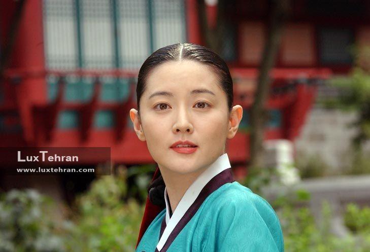 تصویر لی یانگ آئه در سریال جواهری در قصر